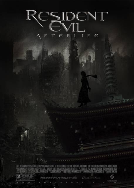 Teaser poster americano di Resident Evil: Afterlife
