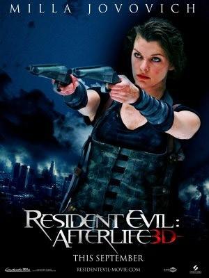 teaser poster di Resident Evil: Afterlife