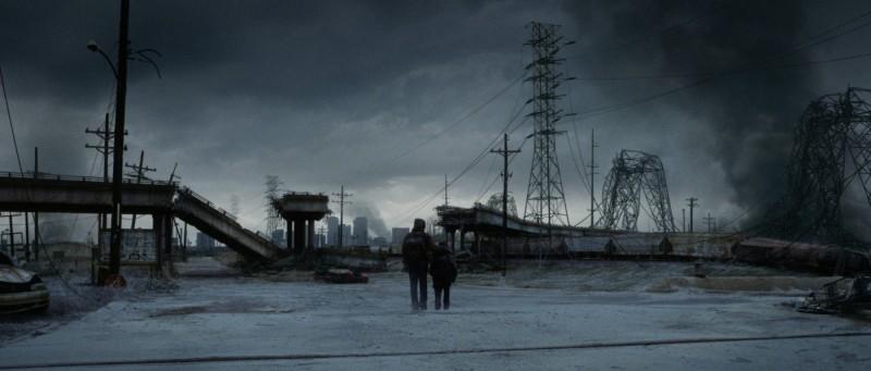 Uno scenario nichilista del film The Road