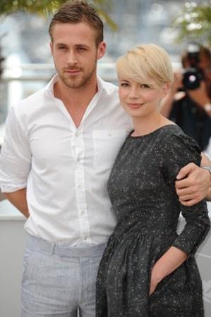 Cannes 2010: Michelle Williams presenta Blue Valentine accanto a Ryan Gosling