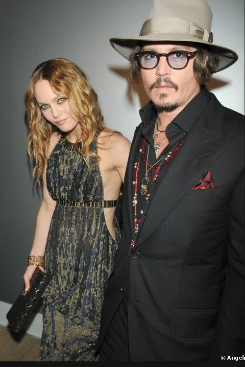 Cannes 2010: Vanessa Paradis con Johnny Depp al party organizzato da Chanel al Vip Room