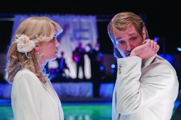 Kristen Wiig e Will Forte in una scena del film MacGruber