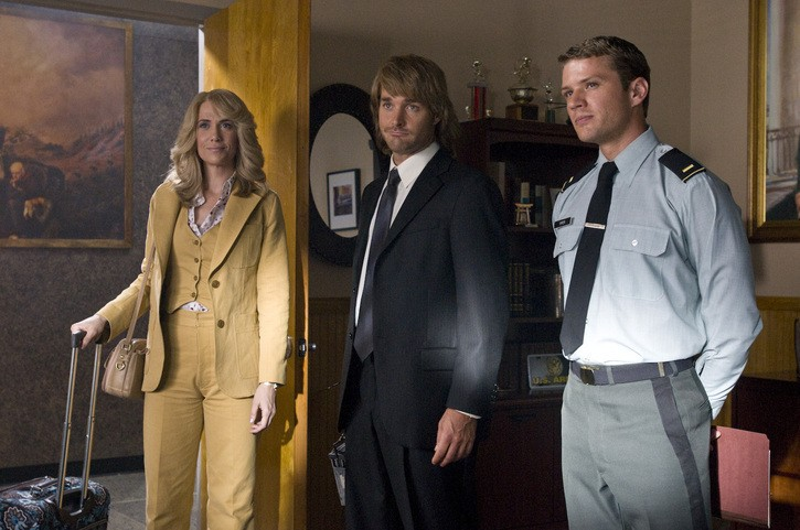 Kristen Wiig, Will Forte e Ryan Phillippe in una scena del film MacGruber