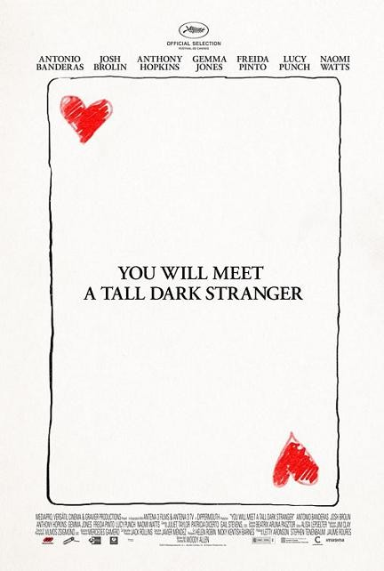 La locandina di You Will Meet a Tall Dark Stranger