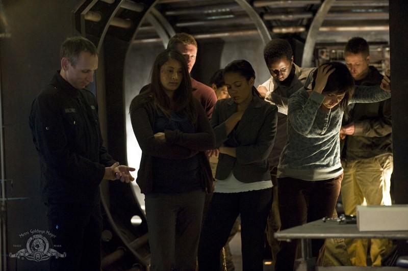 Una sequenza dell'episodio Sabotage di Stargate Universe