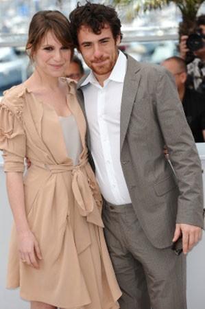 Elio Germano con Stefania Montorsi al Festival di Cannes per presentare La nostra vita