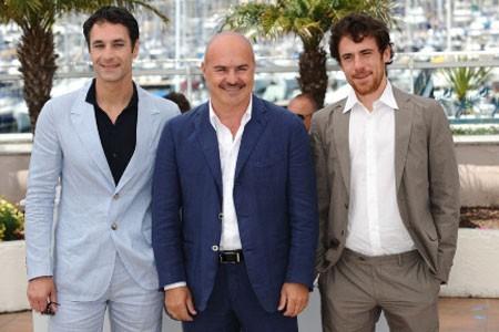 Elio Germano, Luca Zingaretti e Raoul Bova a Cannes per presentare La nostra vita