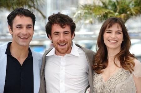 Elio Germano, Stefania Montorsi e Raoul Bova a Cannes per presentare La nostra vita