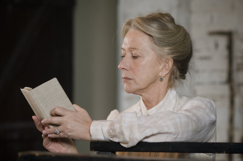 Helen Mirren in un'immagine del film The Last Station