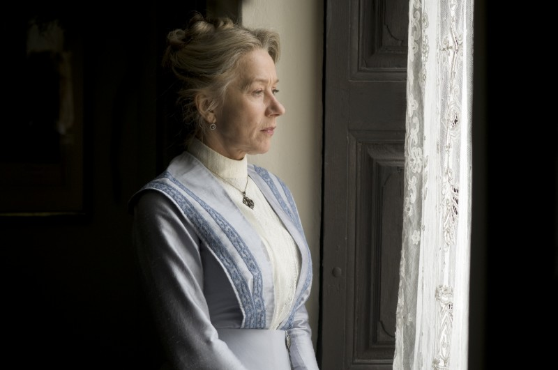 Helen Mirren nell'ombra per il film The Last Station