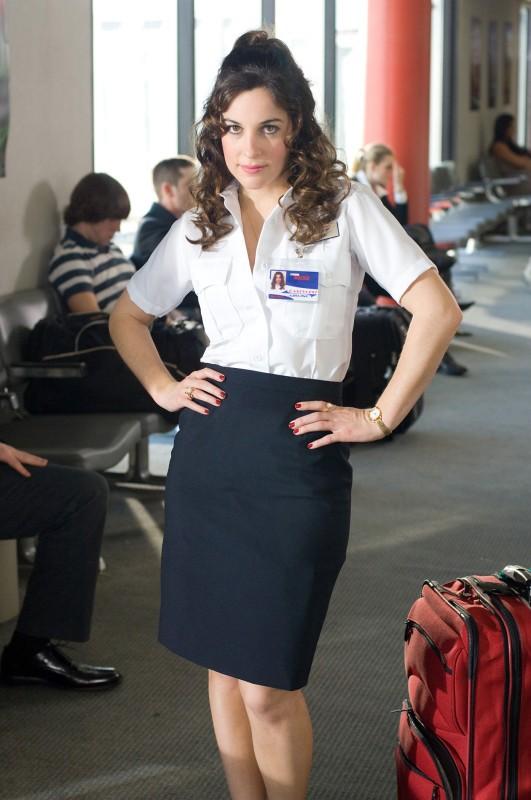 Lindsay Sloane in una scena del film Lei è troppo per me