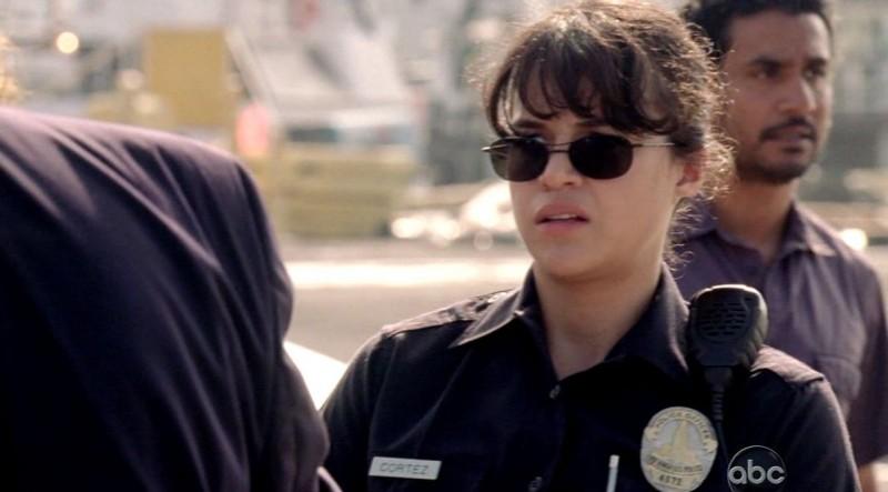 Michelle Rodriguez in una scena di Per cosa sono morti dalla sesta stagione di Lost