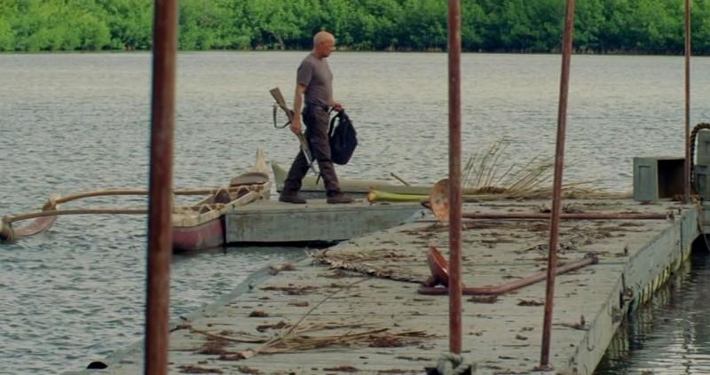 Terry O'Quinn in una scena di Per cosa sono morti dalla sesta stagione di Lost