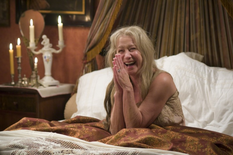 Una divertita Helen Mirren nel film The Last Station