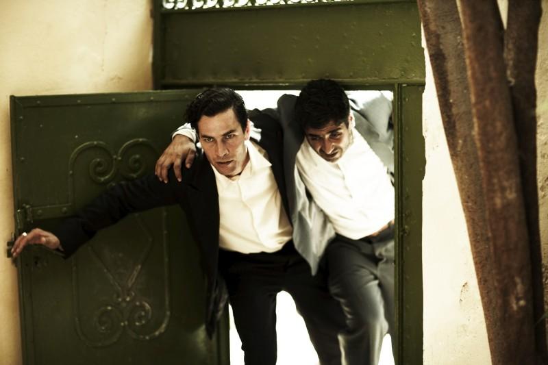 Saleh Bakri in una scena del film The Time That Remains