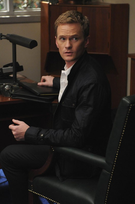 Bryan Ryan (guest star Neil Patrick Harris) nell'episodio Dream On di Glee