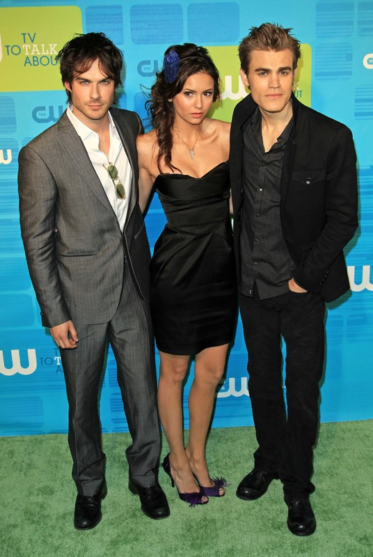 Ian Somerhalder, Nina Dobrev e Paul Wesley al The CW Network Upfront Presentation in New York City, 20 Maggio 2010