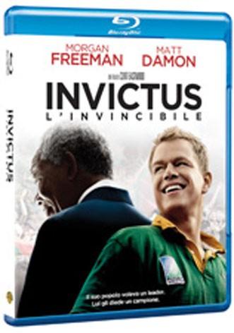 La copertina di Invictus (blu-ray)