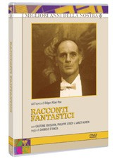 La copertina di Racconti fantastici (dvd)