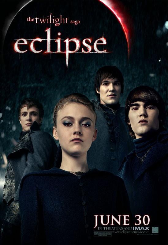 Poster del film The Twilight Saga: Eclipse con i Volturi