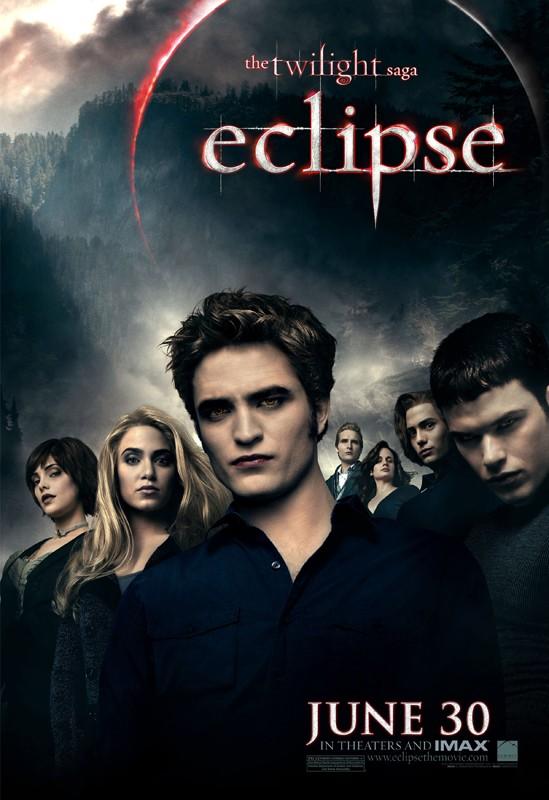 Poster del film The Twilight Saga: Eclipse con la famiglia Cullen