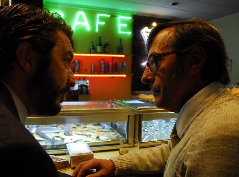 Ricardo Darín e Guillermo Francella nel film Il segreto dei suoi occhi