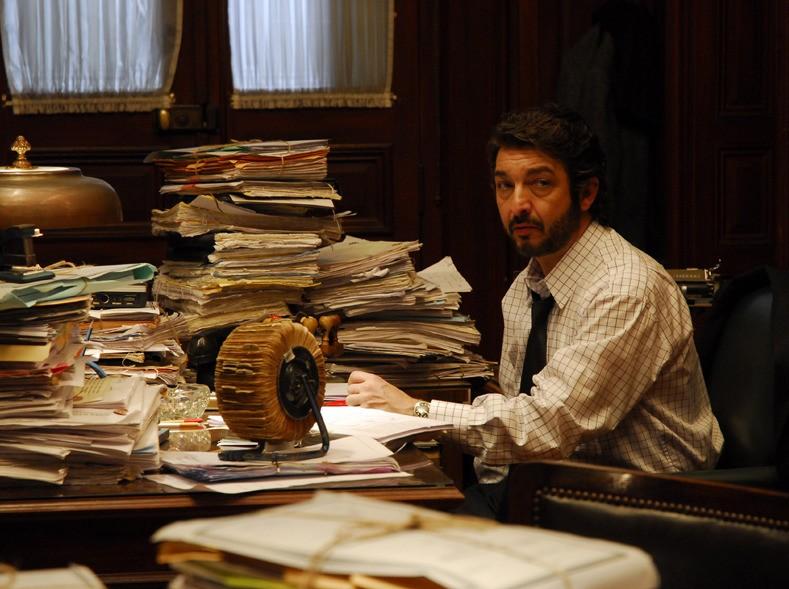 Ricardo Darín in una sequenza del film Il segreto dei suoi occhi