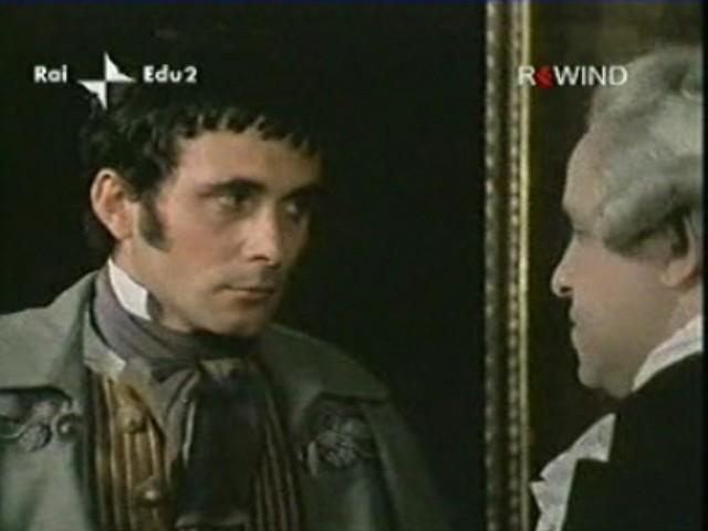 Antonio Orfanò con Renato Scarpa nel film La Certosa di Parma