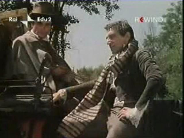Antonio Orfanò con Roberto Herlitzka nel film La Certosa di Parma