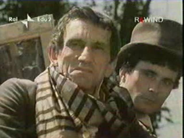Antonio Orfanò con Roberto Herlitzka nel film La Certosa di Parma, regia di Mauro Bolognini