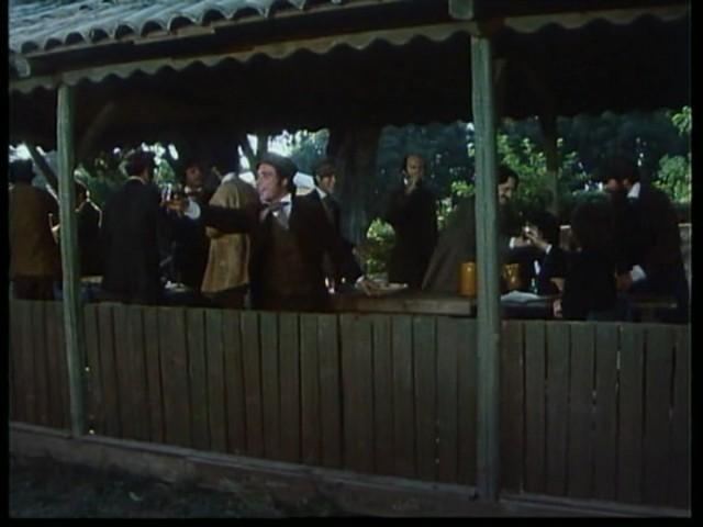 Antonio Orfanò con Ronald Pickup e Lino Capolicchio nel  film Verdi regia di Renato Castellani