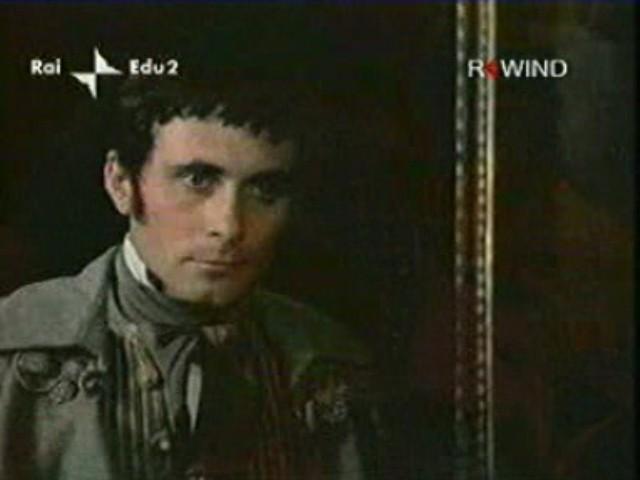 Antonio Orfanò in una scena del film La Certosa di Parma di Bolognini