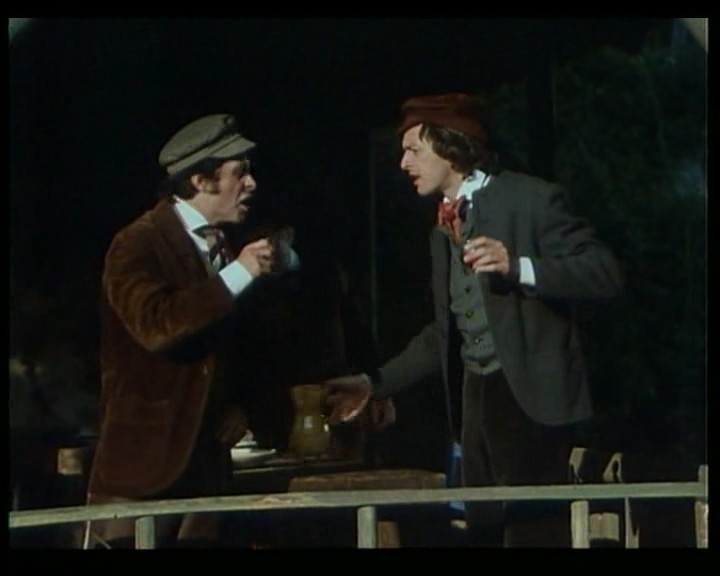 antonio orfanò in una scena del film Verdi di Renato Castellani