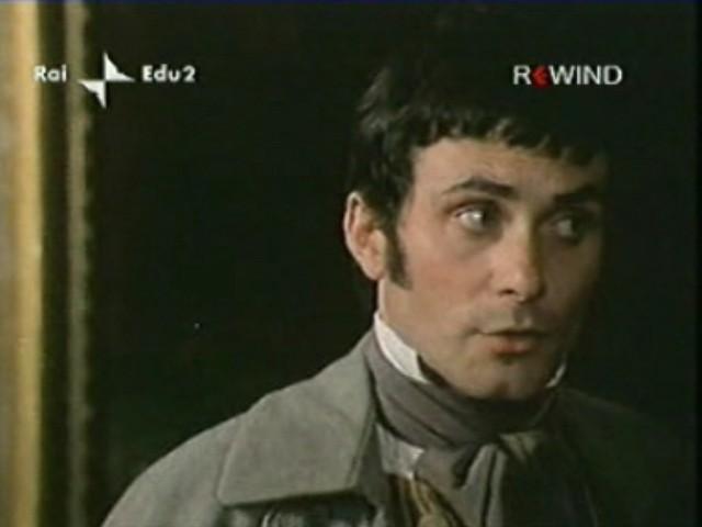Antonio Orfanò in una scena di La Certosa di Parma regia di Mauro Bolognini