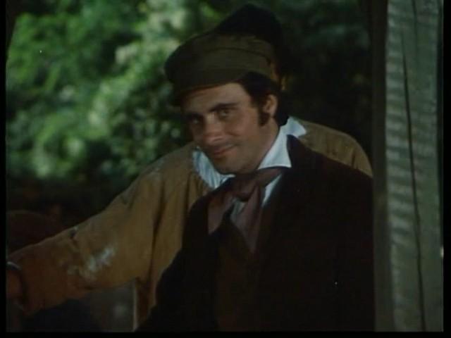 Antonio Orfanò in una sequenza del film Verdi regia di Renato Castellani