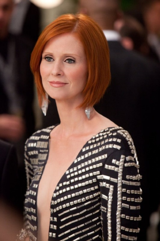 Cynthia Nixon è l'elegante Miranda nel film Sex and the City 2