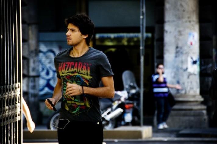 Emanuele Bosi nel film Una canzone per te