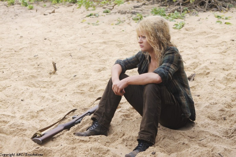 Emilie de Ravin in una scena del doppio finale di Lost