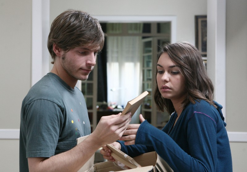 Gabriele Rossi e Nicole Murgia nell'episodio Mi fido di te di Tutti pazzi per amore 2