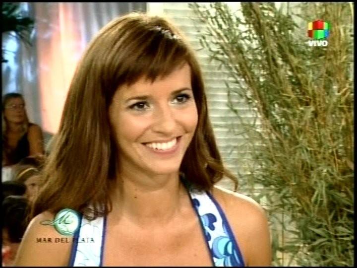 Griselda Siciliani durante un\'intervista