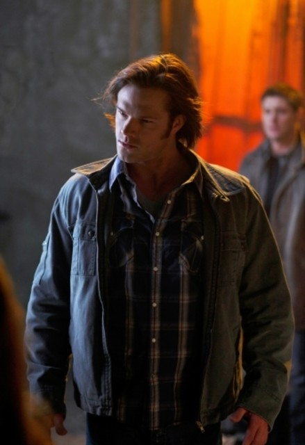 Jared Padalecki nell'episodio Swan Song di Supernatural