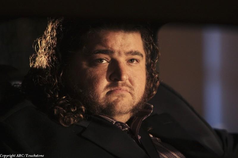 Jorge Garcia nel doppio finale di Lost
