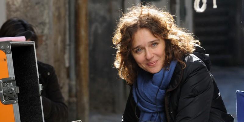 La regista Valeria Golino sul set del corto Armandino e il Madre