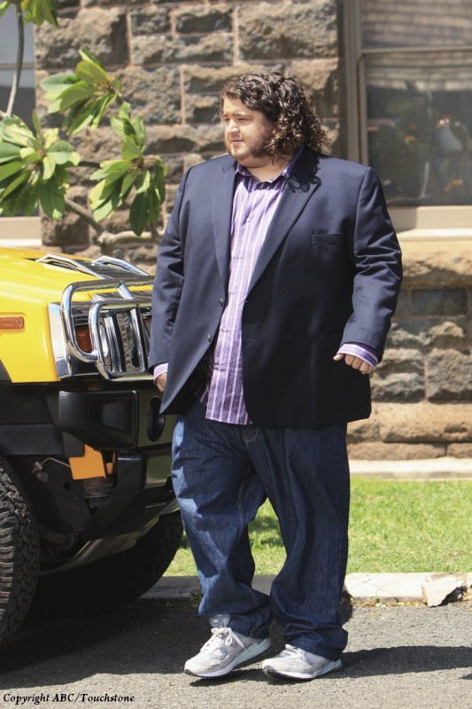 Lost: Jorge Garcia in una scena del doppio finale della serie