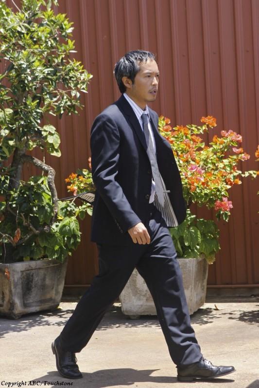 Lost: Ken Leung in una scena del doppio finale della serie