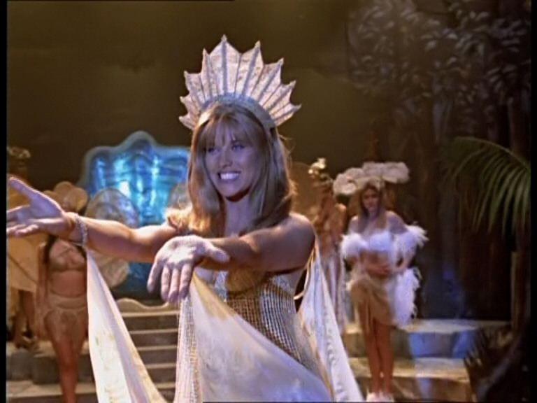 Lucy Lawless nell\'episodio Xena e il concorso di bellezza