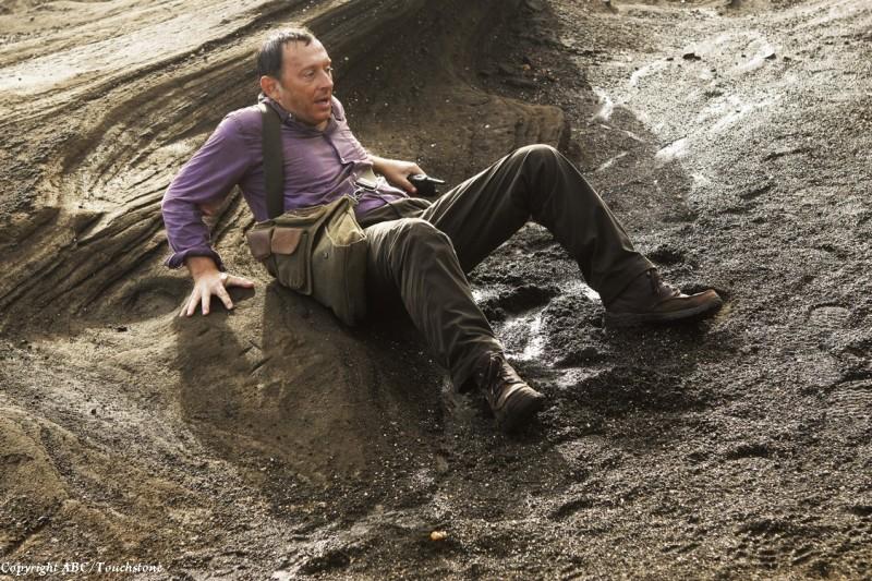 Michael Emerson in una scena del doppio finale di Lost