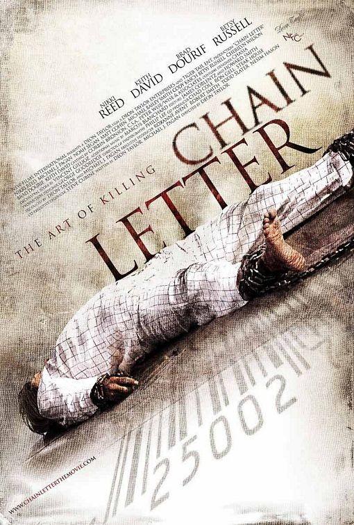 Nuovo poster per Chain Letter