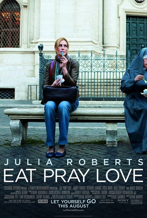 Nuovo Poster per Eat, Pray, Love