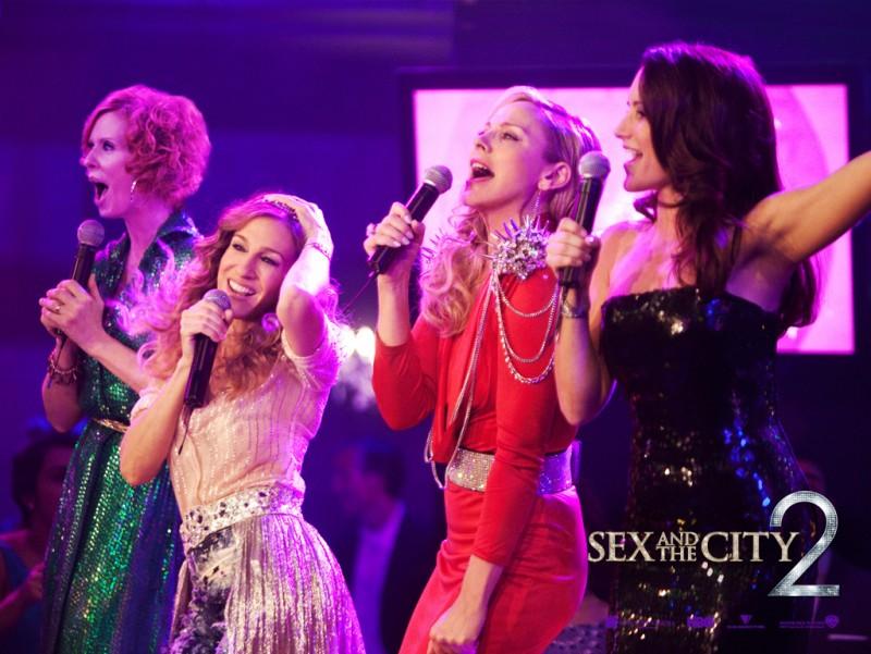 Poster di Sex and the City 2 con le 'ragazze'
